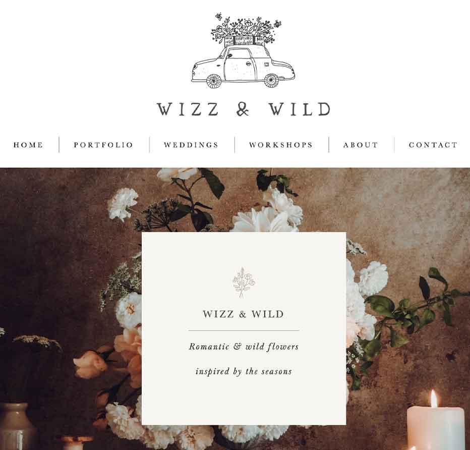 UK boutique florist, Logo design specialist