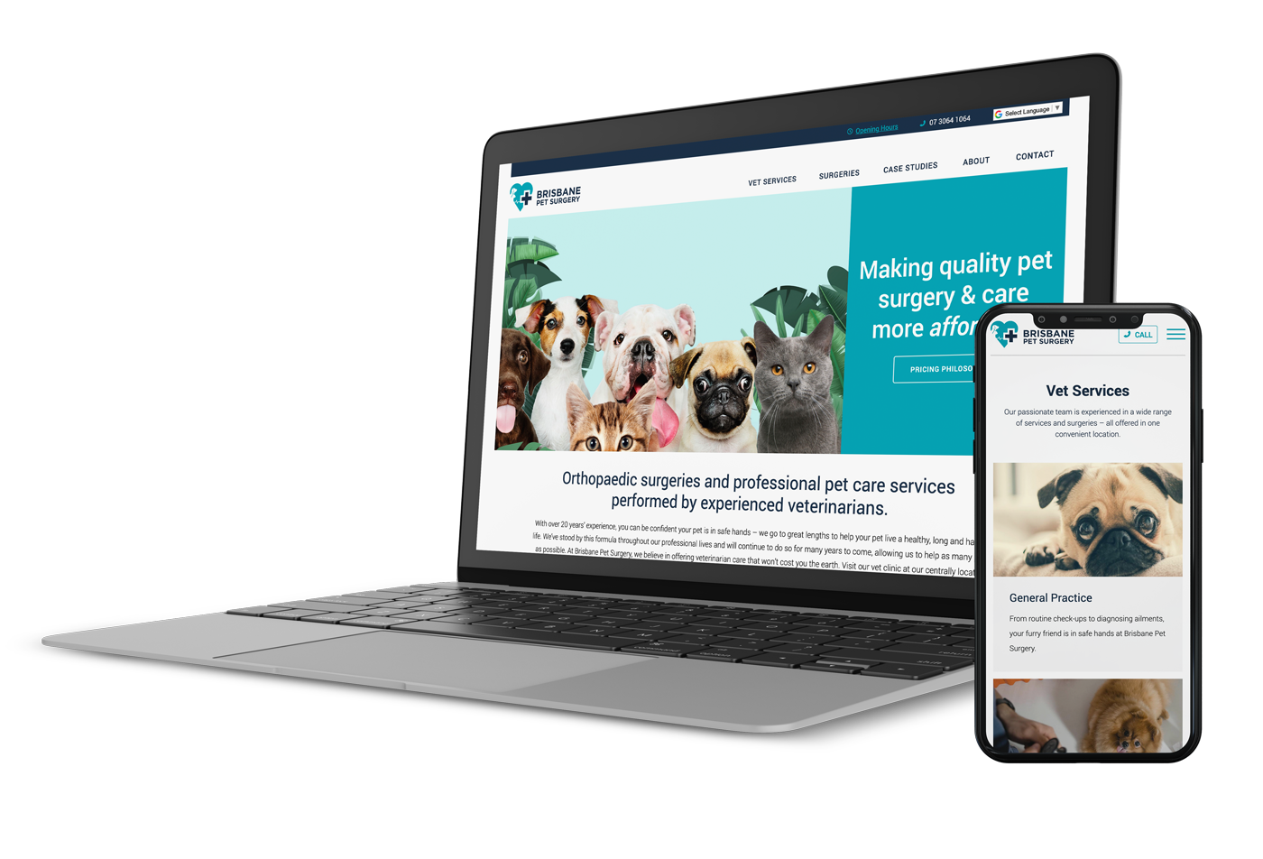 Zeemo created the BPS website to suit a modern professional surgical practice